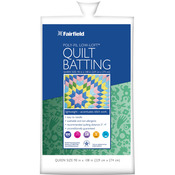 "Low - Loft Bonded Polyester Batting - Queen Size 90""X108"""