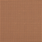 """Terra Cotta - Painted Perforated Paper 14 Count 9""""X12"""" 2/Pkg"""