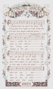 """12""""X20"""" 14 Count - Amazing Grace Counted Cross Stitch Kit"""