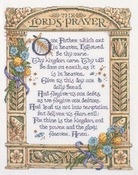 "11-1/4""X14-1/2"" 14 Count - Lord's Prayer Counted Cross Stitch Kit"