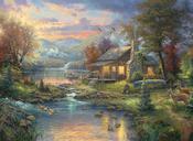 "16""X12"" 16 Count - Thomas Kinkade Nature's Paradise Counted Cross Stitch Kit"