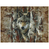 """16""""X12"""" 16 Count - Woodland Spirit Counted Cross Stitch Kit"""
