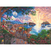 """16""""X12"""" 18 Count - Disney Dreams Collection By Thomas Kinkade Pinocchio Wishes"""