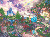 "16""X12"" 18 Count - Disney Dreams Collection By Thomas Kinkade Cinderella Wishes"