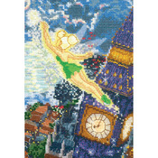 """5""""X7"""" 16 Count - Disney Dreams Collection By Thomas Kinkade Tinker Bell"""