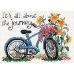 """7""""X5"""" 14 Count - The Journey Mini Counted Cross Stitch Kit"""
