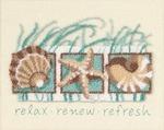 "10""X8"" - Seashells Punch Needle Kit"