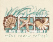 "10""X8"" - Seashells Punch Needle Kit"