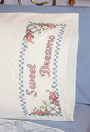 "Sweet Dreams - Stamped Perle Edge Pillowcase 30""X20"" 2/Pkg"