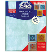 "Blissful Sky - Marble Aida Needlework Fabric 14 Count 14""X18"""