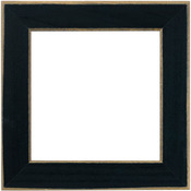 """Matte Black - Wooden Frame 6""""X6"""""""