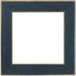 """Matte Blue - Wooden Frame 6""""X6"""""""