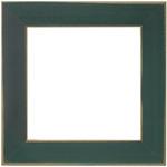 """Matte Green - Wooden Frame 6""""X6"""""""