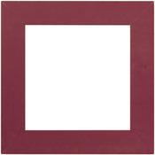 """Matte Plum - Wooden Frame 6""""X6"""""""