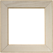 """Taupe - Wooden Frame 6""""X6"""""""