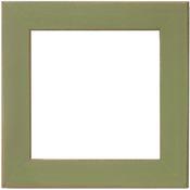 """Olive - Wooden Frame 6""""X6"""""""