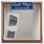 "12""X12"" - Quilt Magic Oak Frame"