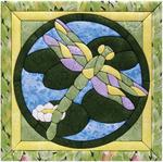 "12""X12"" - Dragonfly Quilt Magic Kit"