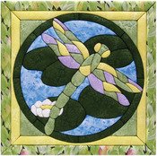 "12""X12"" - Dragonfly Quilt Magic Kit"