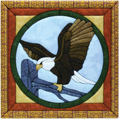 "12""X12"" - Eagle Quilt Magic Kit"