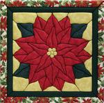Poinsettia Quilt Magic Kit