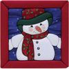 "6""X6"" - Snowman Quilt Magic Kit"