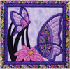 """15.5""""X15.5"""" - Butterfly Quilt Magic Kit"""