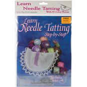 With #7, #5-0, #3-0 Needles & Threader - Learn Needle Tatting Step By Step Kit