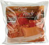Soft Touch Down - Like Pillowform-20 inches X20 inches FAIRFIELD-Soft Touch Down-Like Pillowform. This pillow insert Achieves a professional decorator result with 100% polyester filling. Also has a zipper on the side for adjusting firmness level by adding or removing Poly-fil Supreme (extra poly-fil sold separately). This package contains one 20x20 inch pillow insert. Made in USA.