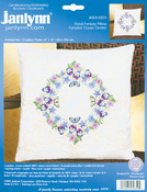 "14""X14"" - Floral Fantasy Candlewicking Embroidery Kit"