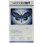 "Butterfly Moon - Wonderart Latch Hook Kit 15""X20"""