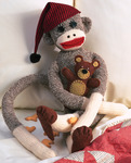 "21"" Long - Peejay Sock Monkey Kit"