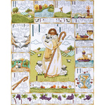 """16""""X20"""" 14 Count - 23rd Psalm Counted Cross Stitch Kit"""