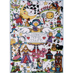 "11""X15"" 14 Count - Nursery Rhymes Counted Cross Stitch Kit"
