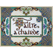 """10""""X13"""" 14 Count - Welcome Friends Counted Cross Stitch Kit"""