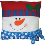 "15""X15"" - Snowman Pillow Felt Applique Kit"