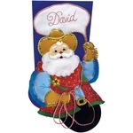 "18"" Long - Cowboy Santa Stocking Felt Applique Kit"