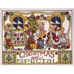"11""X14"" 14 Count - Christmas Is Sew Special Counted Cross Stitch Kit"