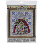 """14""""X16"""" 14 Count - 12 Days-Jim Shore Counted Cross Stitch Kit"""