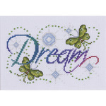 """5""""X7"""" 14 Count - Dream Counted Cross Stitch Kit"""