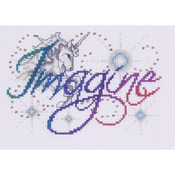 "5""X7"" 14 Count - Imagine Counted Cross Stitch Kit"