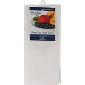 "White - Showcase Huck Towel 15""X25"""