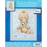 """11""""X14"""" 14 Count - Angel Birth Record Counted Cross Stitch Kit"""
