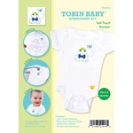 Fits 0-3 Months - Tobin Baby Frog Soft Touch Romper Embroidery Kit