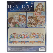 """26-1/2""""X10"""" 14 Count - The Last Supper Counted Cross Stitch Kit"""