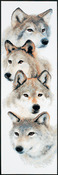 The Pack Counted Cross Stitch Kit