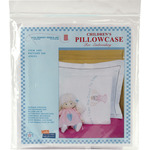 Angel - Children's Stamped Pillowcase With White Perle Edge 1/Pkg