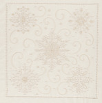 "14""X14"" - Snowflakes Candlewicking Embroidery Kit"