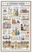 """9-1/4""""X15-1/4"""" 14 Count - A Virtuous Woman Counted Cross Stitch Kit"""