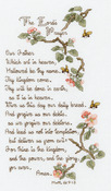 """5-1/2""""X10"""" 14 Count - The Lord's Prayer Counted Cross Stitch Kit"""